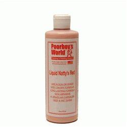 Poorboy's Natty's liquid Wax Red 473ml