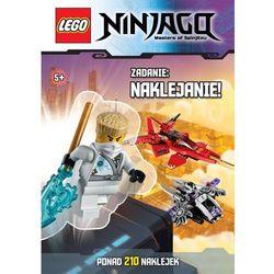 Lego Ninjago. Zadanie: naklejanie! (opr. miękka)