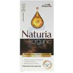 Joanna Naturia organic farba do włosów bez amoniaku Chocolate nr 341