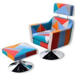Regulowany fotel do oglądania TV ze sztucznej skóry z podnóżkiem Zapisz się do naszego Newslettera i odbierz voucher 20 PLN na zakupy w VidaXL!