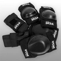 ochraniacz TSG - Basic-Set Black (102) rozmiar: L