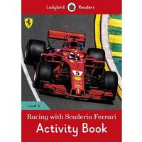 Racing with Scuderia Ferrari Activity Book - Ladybird Readers Level 4 (opr. miękka)