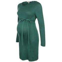 Esprit Maternity Sukienka dzianinowa dark teal green