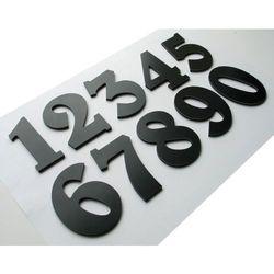 Numer, Numery, Cyfra, Cyfry na drzwi, czarne wys. 7 cm