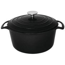 Naczynie żaroodporne okrągłe | czarne | 3,2L lub 4L