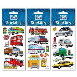 Stickerboo, zestaw naklejek, Silver, 66x180 mm, samochody Darmowa dostawa do sklepów SMYK