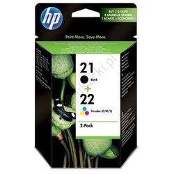 HP SD367AE Combo-pack HP 21 + HP 22 tusz czarny i kolorowy