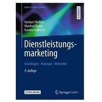 Dienstleistungsmarketing Meffert, Heribert