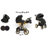 Baby Active wózek Mommy Glossy Gold 3w1
