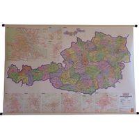Austria mapa ścienna kody pocztowe 1:500 000 Freytag & Berndt