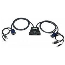 Manhattan Przełącznik KVM 2/1 USB