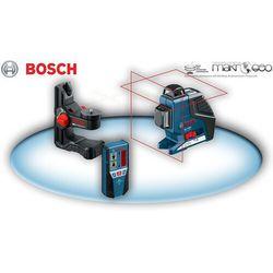 GLL 2-80 P Professional + BM1 + odbiornik LR2 BOSCH Laser płaszczyznowy