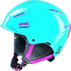 Uvex kask narciarski P1US Junior cyan-pink 52-55 - Gwarancja terminu lub 50 zł! - Bezpłatny odbiór osobisty: Wrocław, Warszawa, Katowice, Kraków
