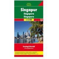 Singapur mapa 1:15 000 Freytag & Berndt (opr. twarda)