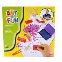 Simba, Art&Fun, Literki stempelki, zestaw
