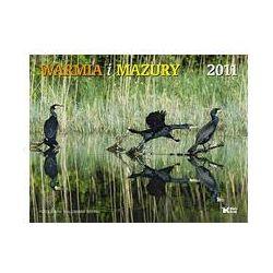 Kalendarz 2011 ścienny Warmia i Mazury