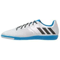 adidas Performance MESSI 16.3 IN Halówki silver metallic/core black/shock blue