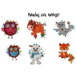LABEL LABEL Friends kocyk - przytulanka MIŚ POLARNY - z metkami
