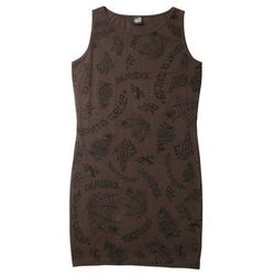 sukienka SANTA CRUZ - Tattoo Dress Vintage Black (VINTAGE BLACK) rozmiar: M