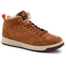 Buty sportowe półwysokie, skórzane, sznurowane Distill Mid