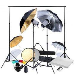 Zestaw studio: 2 lampy, 6 parasolek i 2 statywy Zapisz się do naszego Newslettera i odbierz voucher 20 PLN na zakupy w VidaXL!