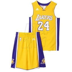 Komplet koszykarski adidas Los Angeles Lakers Kobe Bryant Junior AC0557