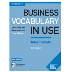 Business Vocabulary in Use: Intermediate Third Edition - Wortschatzbuch + Lösungen + eBook
