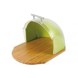Ambition Chlebak drewniany z plastikową pokrywą Vader Zielony