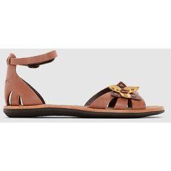 Płaskie skórzane sandały Spartwin