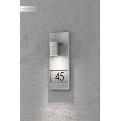 Konstsmide Modena Oświetlenie Numeru Domu Siwy 1 Punktowy