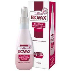 BIOVAX Dwufazowa odżywka bez spłukiwania do włosów farbowanych 200ml