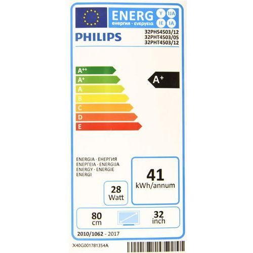 TV LED Philips 32PHS4503