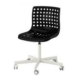 SKALBERG / SPORREN Krzesło obrotowe, czarny, biały
