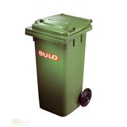 Pojemnik mobilny na odpady 120L - zielony SULO
