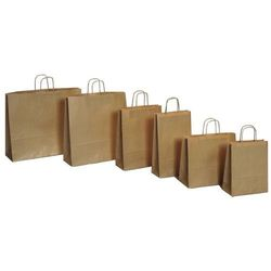 Papierowa torebka Lanex P2,5/10szt. średnia szara