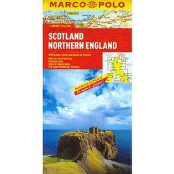 Anglia Południowa, Walia. Mapa samochodowa, składana 1:300 000. Marco Polo. (opr. twarda)