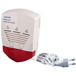 Czujnik gazu ziemnego 230V 2 sensory ORNO
