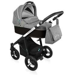 Baby Design, Wózek wielofunkcyjny, Husky New Black Darmowa dostawa do sklepów SMYK
