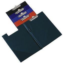 Clipboard deska z klipem i okładką, format A4, niebieska