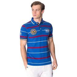 Niebieska koszulka polo SMPC Granton