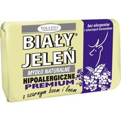 Biały Jeleń Hipoalergiczny, Premium, Czarny Bez, mydło toaletowe, 100g