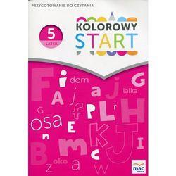 Kolorowy Start Pięciolatek Przygotowanie do czytania