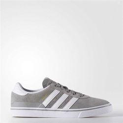 buty ADIDAS - Busenitz Vulc Light Grey/Footwear White/Gold Metallic (CHSOGR/FTW) rozmiar: 46