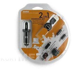 Zest. do ład. GSM 2w1 Nokia/SonyEricsson/Samsung/Motorola,USB 12/24V