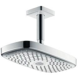 Hansgrohe głowica prysznicowa E 300 2jet z przyłączem sufitowym 100 mm, DN15 Raindance Select 27384400