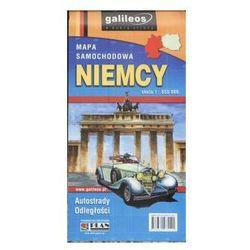 NIEMCY- mapa samochodowa laminowana (2014) - Praca zbiorowa