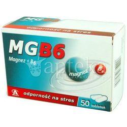 Mg B6 tabl. 50 tabl.