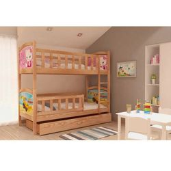 Łóżko piętrowe Tania