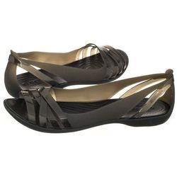 76b091160d8 Sandały Crocs Isabella Huarache 2 Flat W Black 204912-060 (CR143-c)