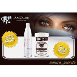 Maska Wax + Szampon 500 ml Postquam Wypadanie Włosów